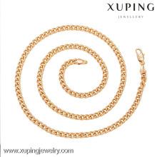 42590-Xuping ювелирные изделия мода высокое качество и новый дизайн цепочки ожерелье