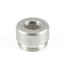 Round Cap Aluminum Alloy Turning Parts With Thread