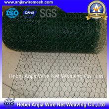 Mesh en poudre hexagonale galvanisée en PVC