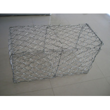 Hot DIP Galvanized Gabion Mesh 2mx1mx1m