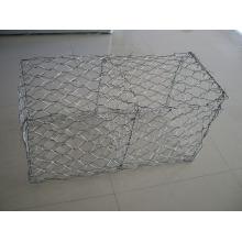 Hot Galvanizd Gabion Box / malha Gabion