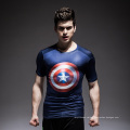 Wholesale Professional High Quality Lycra Rash Guard with Shield