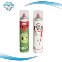 Spray anti-moustique à base d'huile pour insecticide domestique / insecticide en aérosol Spray / Insecticide