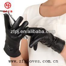 Nuevos guantes de cuero para pantalla táctil