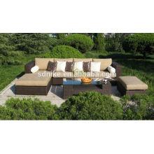 the hot sale most popular design outdoor PE rattan classical furniture sofa