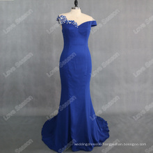 RP0138 Unique mermaid chapel train online prom dress shopping fashion sequined beaded prom dress evening dress royalblue color