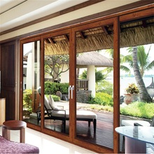 Heavy Duty Aluminum Storm Sliding Doors