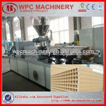 pvc wood profile door making machine