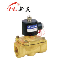 Water Oil or Air Brass Solenoid Valve