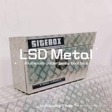 Wasserdichte Aluminium-Unterboden-Werkzeugbox für Abholung. Benutzerdefinierte Wasserdichte Aluminium-Unterboden-Werkzeugbox für Pickup