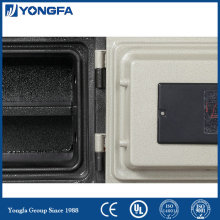 Electronic fire security box