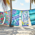 print purple pattern Beach Towel in Yiwu market BT-085