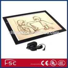 Painel acrílico perfeita animação LED placa de seguimento para animação e desenho