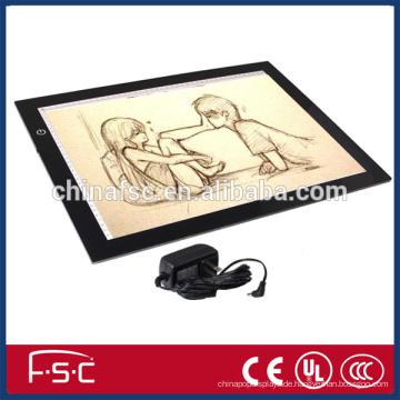 Perfekte Animationsbedienfeld Acryl LED verfolgenbrett für Animation und Zeichnung