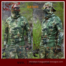 Tactical Kryptek Style Long Sleeved T-Shirt Quick Release T-Shirt