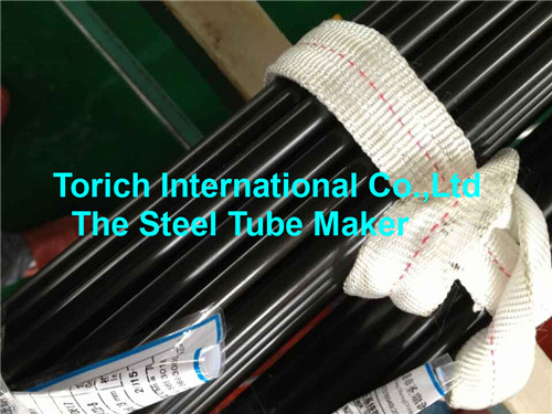Round Black Phosphating Precision Seamless Steel Tube