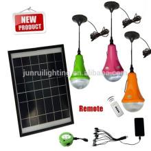 Éclairage intérieur LED solaire portable avec CE & brevet (JR-SL988A)