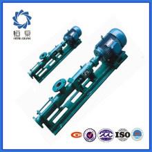 Pompe à vis de drague électrique de bonne qualité de la série G
