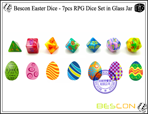 Bescon Easter Dice (5)