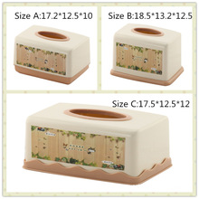 Fashion Cartoon Living Room Decorative Tissue Boxes (FF-5801-1)