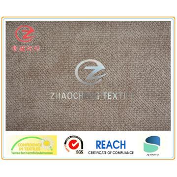 32 Вт поли / нейлоновая вельветовая ткань для использования на диване (ZCCF055)