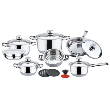 16pcs wide edge cookware set Austrilia
