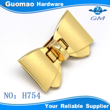 customized metal,butterfly decorative purse twist locks and luggage accessories