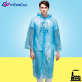 button knee length disposable raincoat