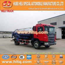 JAC 4x2 10000L sewage truck with vacuum pump hot sale