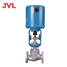 JVL oil  gas  steam  flow control  electric regulating valve