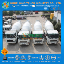 CAMC CNG 9-10cbm Construction Mixer Truck for Chile