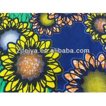 2014 novo design 100% algodão de alta qualidade tecido de impressão de cera africana