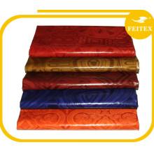 Tela africana tradicional del vestido de la manera del brocado de Boubou Guinea para las telas de algodón del partido