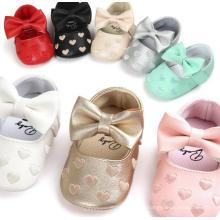 Детская Обувь Анти-Слип Мягкой Подошвой Младенческой Малыша Мокасины Мокасины