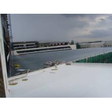 Feuille imperméable EPDM 1,5 mm pour toiture exposée