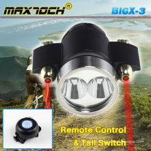 Maxtoch BI6X-3 Dual Cree XML T6 Laser LED Push Bike Light