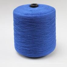 Rayon / Lin 70/30% Ne 7s blanc brut de fil pour le tissage