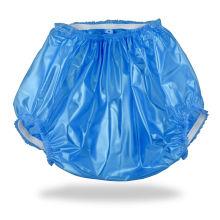 Calças de plástico ABDL para fraldas e fraldas de bebê para adultos