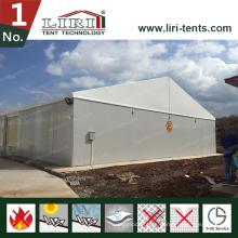 El emparedado empareda el tejado blanco cubre la tienda de aluminio grande para las ventas calientes