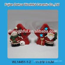 Ceramic christmas snowman decoration for LED design