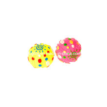 Игрушка для домашних животных из винилового мяча с принтом солнца