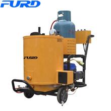 Machine de remplissage de cachetage de fissure d'asphalte de route de poussée de main