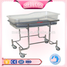 New born full stainless steel baby swing cot bed prices