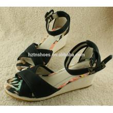 Beste Qualität Fancy Fersen Sandalen Schuh wome Sandale Gummi