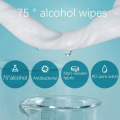 50 Pcs/bag disposable disinfectant cleaning alcohol napkins