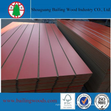 Slotted MDF/Groove MDF with Melamine Paper