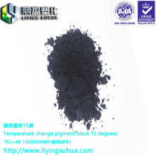 Warming and color-reducing special pigment for plasticine color change