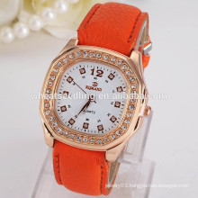 2015 hot wristwatch Vogue cheap watch fashion leather watch
