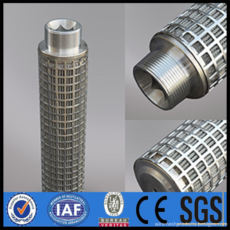 Uniform Filter Pipe