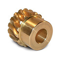 0.5 Module small brass spur pinion gears